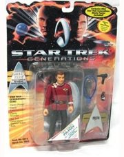 Star Trek action figures by Playmates-still in packages