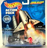 MATTEL HOT WHEELS ACTION PACK/ JOHN GLENN/GREAT AMERICAN HERO