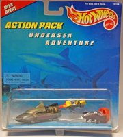 Hot Wheels Action Pack / Undersea Adventure by Mattel