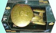 Gold Starship Enterprise 7th Anniversary Limited Edition by Playmates